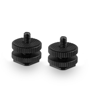 """SMALLRIG Cold Shoe Adapter with 3/8"""" to 1/4"""" Thread"""
