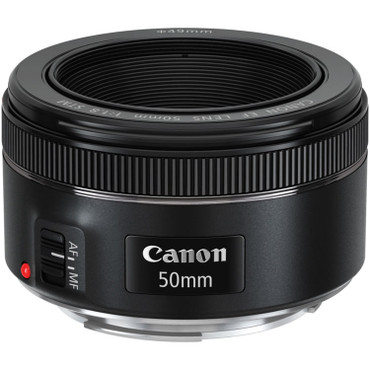 Pre-Owned - Canon EF 50mm f/1.8 STM Lens