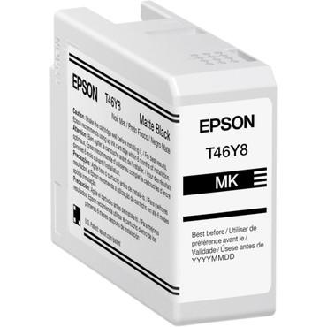 Epson P900 INK T46Y Matte Black UltraChrome PRO10 Ink Cartridge (50mL)