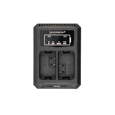 Promaster Dually Charger - USB for Nikon EN-EL25