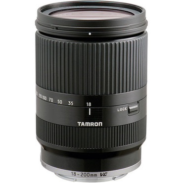 Tamron 18-200 F/3.5-6.3 Di III VC Lens For Sony E mount(Blk) (ACE39558)