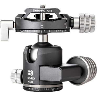 Benro GX25 Two Series Arca-Type Low Profile Aluminum Ball Head (ACE63233)