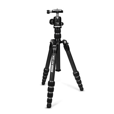 Promaster XC-M 522CK Professional Carbon Fiber Tripod Kit with Head - Silver (ACE63331)