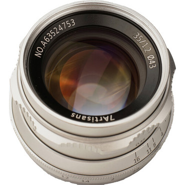 7artisans Photoelectric 35mm f/1.2 Lens for Micro Four Thirds Mount - Silver (ACE63428)