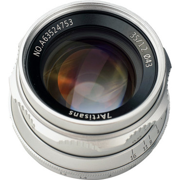 7artisans Photoelectric 35mm f/1.2 Lens for Sony E (Silver) (ACE63430)