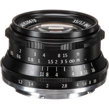 7artisans Photoelectric 35mm f/1.2 Lens for Sony E (Black)