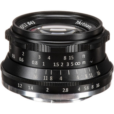 7artisans Photoelectric 35mm f/1.2 Lens for Fujifilm X (Black) (ACE63432)