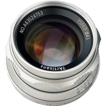 7artisans Photoelectric 35mm f/1.2 Lens for Fujifilm X (Silver) (ACE63433)