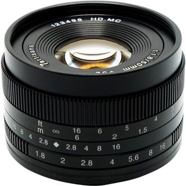 7artisans Photoelectric 50mm f/1.8 Lens for Fujifilm X (ACE63435)