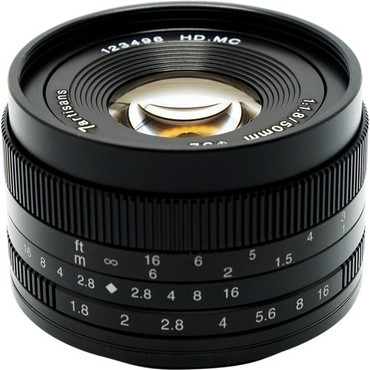 7artisans Photoelectric 50mm f/1.8 Lens for Micro Four Thirds (ACE63436)