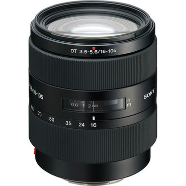Sony Alpha 16-105mm f/3.5-5.6 DT Lens