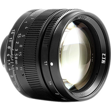 7artisans Photoelectric 50mm f/1.1 Lens for Leica M (Black)