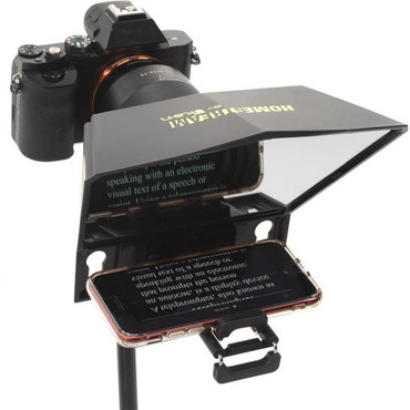 ikan Homestream Smartphone Teleprompter for DSLR/Mirrorless/Phone with Bluetooth Remote