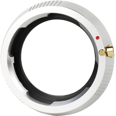 7artisans Photoelectric Transfer Ring for Leica-M Mount Lens to FUJIFILM X-Mount Camera (Silver)