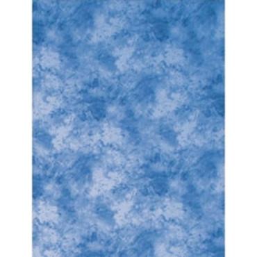 Promaster Cloud Dyed Backdrop 10'x12' - Medium Blue