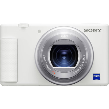 Sony ZV-1 Digital Camera (White) (ACE63506)