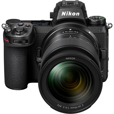 Nikon Z - Z6 II Mirrorless Digital Camera with 24-70mm f/4 Lens (ACE63508)