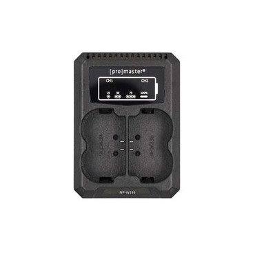 Dually Charger-USB for Fuji NP-W235