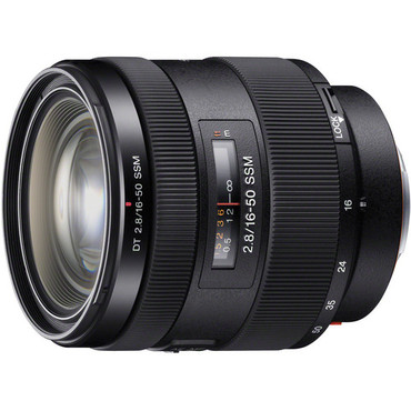 Sony Alpha 16-50mm f/2.8 Standard Zoom Lens