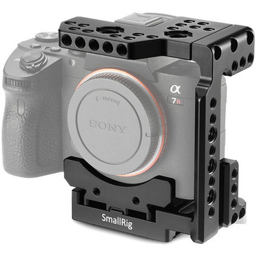 SmallRig 2098 Quick Release Half Cage for Sony a7 II/a7 III Series Cameras 2329