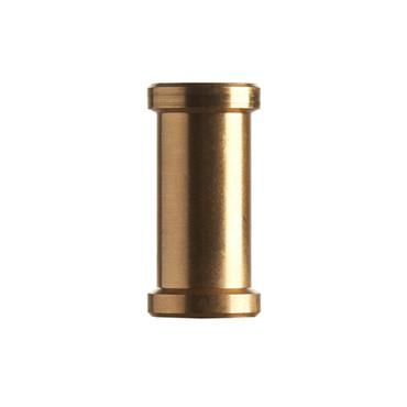 Short Brass Spigot 1/4-20 female to 3/8 female