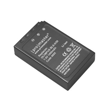 Promaster Li-ion Battery for Olympus BLS-5/BLS-50