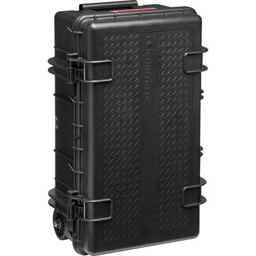 Manfrotto Pro Light Reloader Tough-55 High Lid Carry-On Camera Rollerbag (Black) (ACE63817)