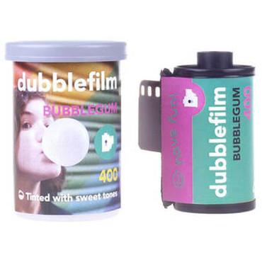 dubblefilm Bubblegum 400 Color Negative Film (35mm Roll Film, 36 Exposures)