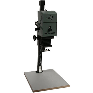 Beseler Printmaker 67VC (Variable Contrast) Enlarger with Baseboard & Lens Kit - Black