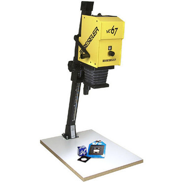 Beseler Printmaker 67VC (Variable Contrast) Enlarger with Baseboard & Lens Kit YELLOW
