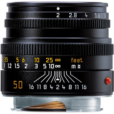 Leica Summicron-M 50mm f/2 Lens (Made in Portugal)