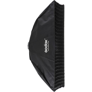 """Godox Softbox with Bowens Speed Ring and Grid (13.8 x 63"""")"""