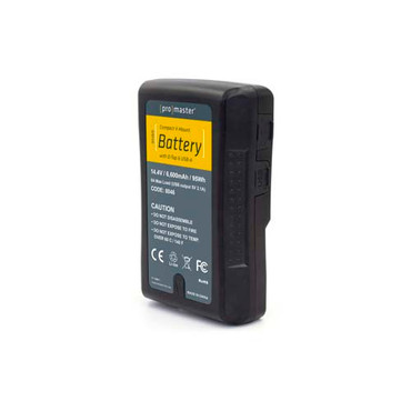 Compact V-Mount Battery Kit 95Wh with D-Tap & USB-A