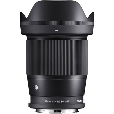 Sigma 16mm f/1.4 DC DN Contemporary Lens for Leica L (ACE64121)