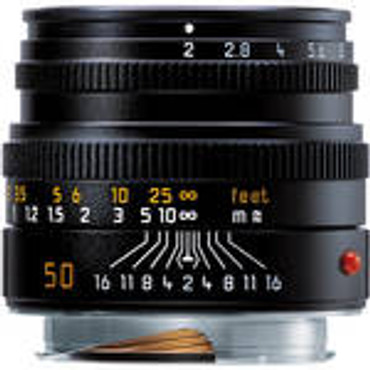 Pre-Owned Leica Summicron-M 50mm f/2 Lens(one year warranty)