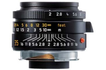 Pre-Owned Leica 35Mm F/2.0 Summicron M Aspherical M Lens  Black