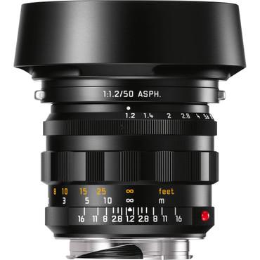 Leica Noctilux-M 50mm f/1.2 ASPH Lens (Black)