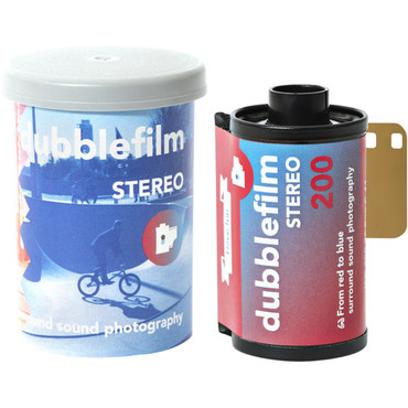dubble film Stereo 200 Color Negative Film (35mm Roll Film, 36 Exposures)