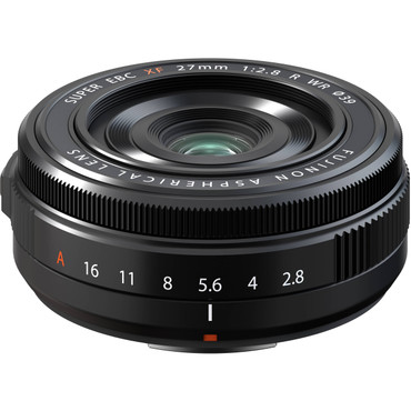 FUJIFILM XF 27mm f/2.8 R WR Lens