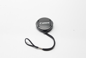 Pre-Owned Replacement 30.5mm Lens Cap with String Leash Holder for Canon video cameras