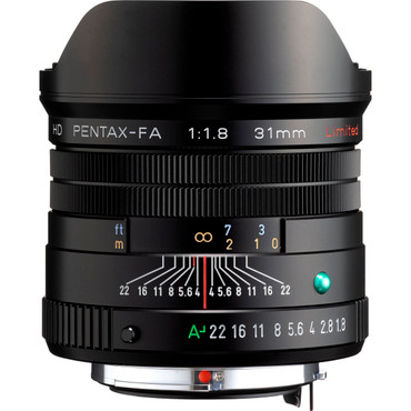 HD PENTAX-FA 31mmF1.8 Limited (Black)