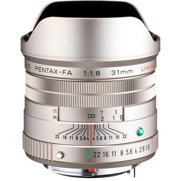 HD PENTAX-FA 31mmF1.8 Limited (Silver)