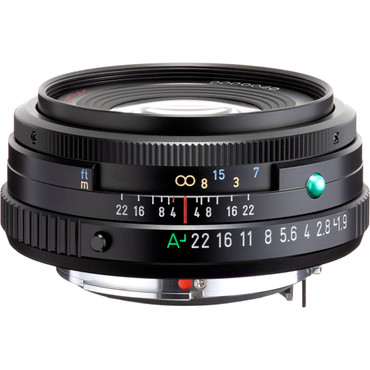 Pentax HD Pentax-FA 43mm f/1.9 Limited (Black)