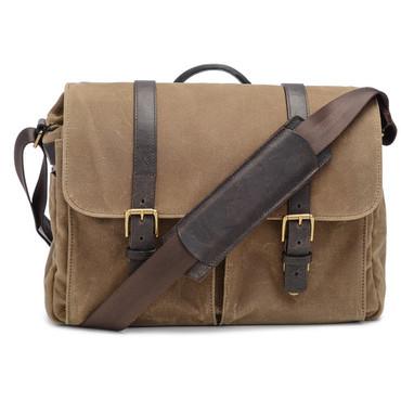 ONA Brixton Camera/Laptop Messenger Bag (Field Tan)