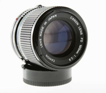 Pre-Owned - Canon FD 100mm f/2.8 for film camera