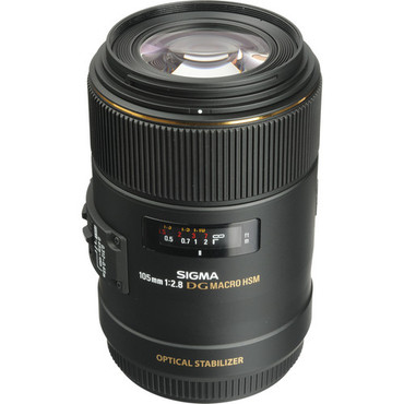 Pre-Owned Sigma 105mm f/2.8 EX DG OS HSM Macro Lens (Canon)