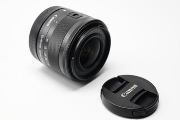 Pre-Owned Canon  EF-M 15-45mm f/3.5-6.3 IS STM Lens  for M3 & M10 (Graphite)