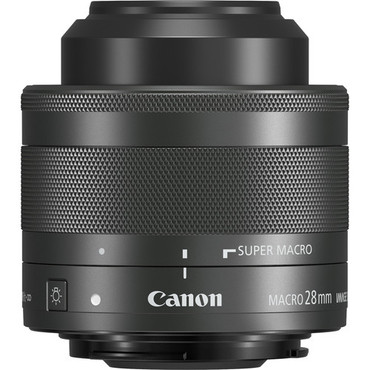 Pre-Owned - Canon EF-M 28mm f/3.5 Macro IS STM Lens