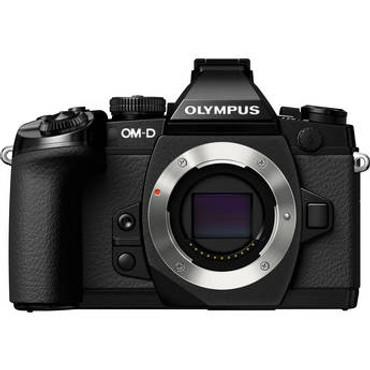 Pre-Owned - Olympus OM-D E-M1 body w/battery grip (BLACK)
