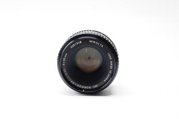 Pre-Owned Minolta MC Rokkor-X PF 50mm F/1.7